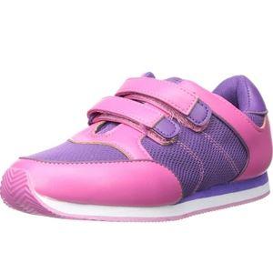Girl's Enzo Ellis Sneaker  Pink and Purple Size 4